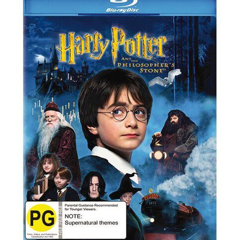 Harry Potter and The Philosophers Stone Blu-ray 1Disc