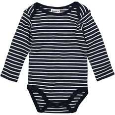 Basics Brand Baby Unisex Long Sleeve Stripe Bodysuit
