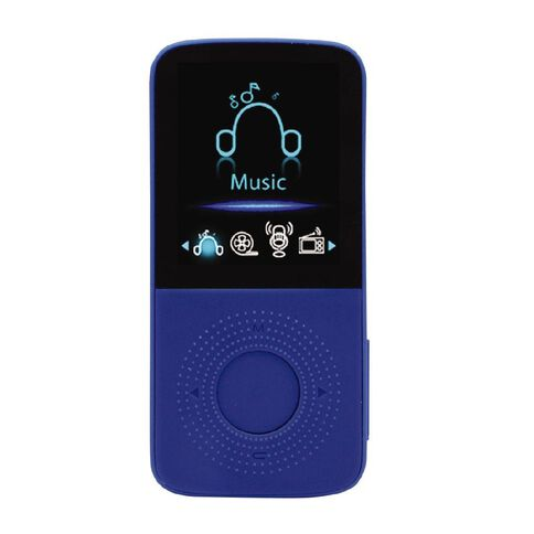 8GB MP4 Player with 1.8 inch Display Blue