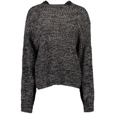Garage Plain Crew Knitted Jumper