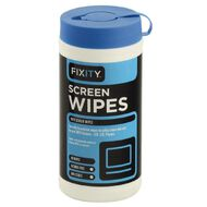 Fixity Clean LCD/Plasma Screen Wipes (80)
