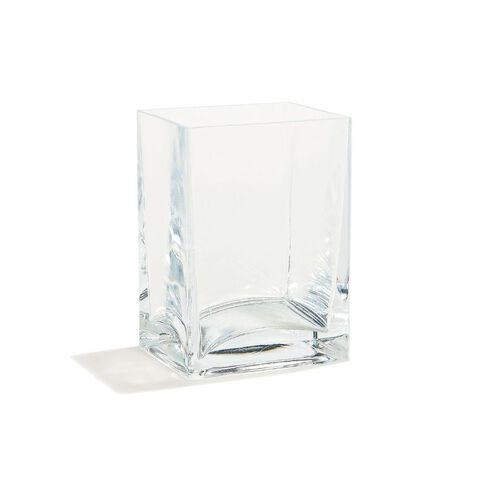 Living & Co Quadro Vase Clear 14cm