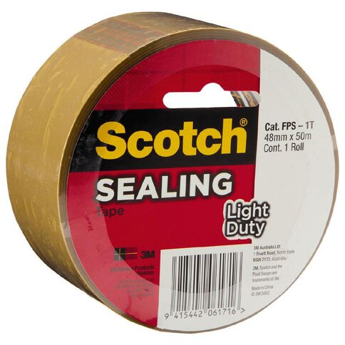 Scotch Sealing Tape 3609 Tan 48mm  x  50m