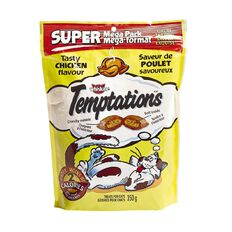 Whiskas Temptations Super Mega Pack Tasty Chicken Flavour 350g