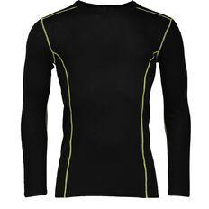 Basics Brand Men's Thermal Merino Long Sleeve Top