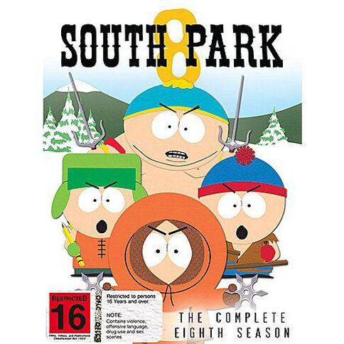 Southpark Season 8 DVD 3Disc