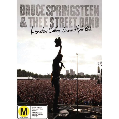 Bruce Springsteen London Calling Live In Hyde Park DVD 2Disc