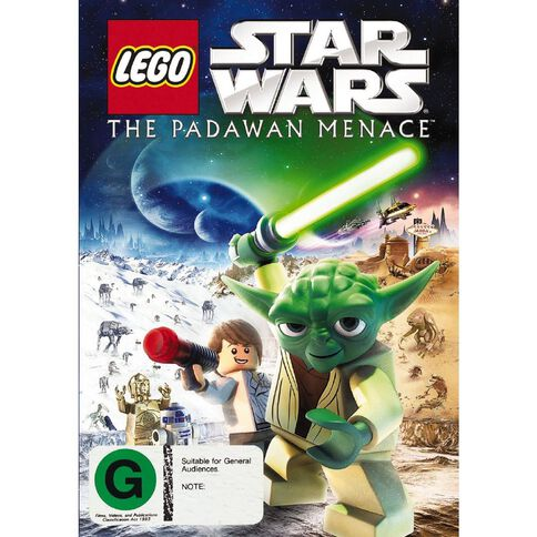 LEGO Star Wars The Padawan Menace DVD 1Disc