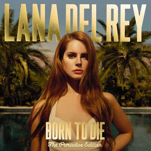 Born To Die Paradise Edition CD by Lana Del Ray 2Disc