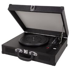 Living & Co Retro Suitcase Style Turntable with Bluetooth SRO6160