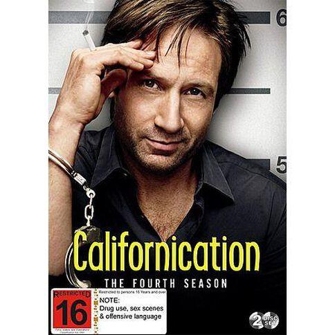 Californication Season 4 DVD 2Discs