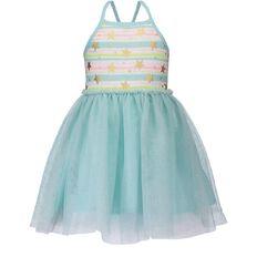 Hippo + Friends Toddler Girl Tutu Sparkle Dress