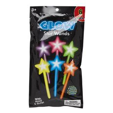 Glow Star Wands 6 Pack