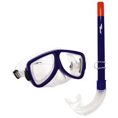 Aqua Splash Adults' Mask/ Snorkel 2 Piece Set