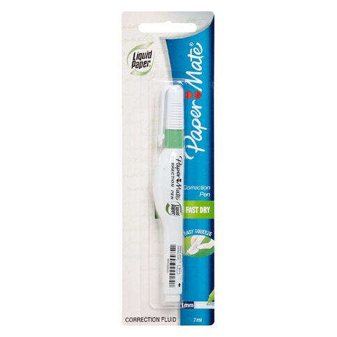 Paper Mate Correction Pen Liquid Paper Hangsell 7ml