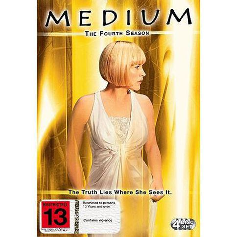 Medium Season 4 DVD 1Disc