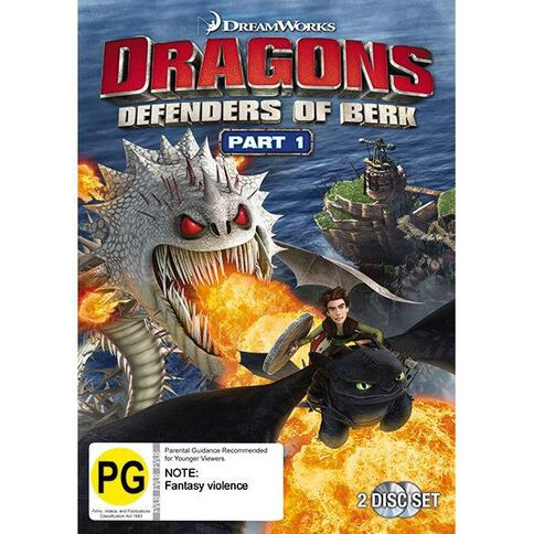 Dragons Defenders of Berk Volume 1 DVD 2Disc