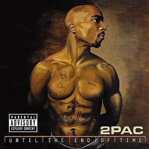 Until The End of Time CD by 2 Pac 2Disc
