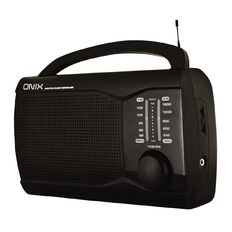 Onix Portable Mantle Radio PR-201