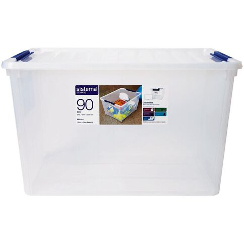 Sistema Storage Organiser 90L