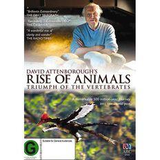 David Attenborough Rise of the Animals DVD 1Disc