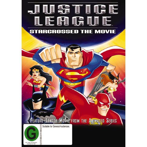 Justice League Starcrossed DVD 1Disc