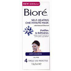 Biore Self-Heating Mask 4s