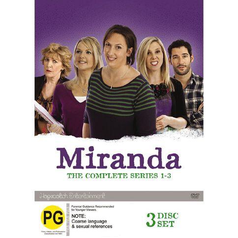 Miranda Season 1-3 Boxset DVD 3Disc