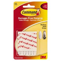 Command Medium Mounting Strips 17021P