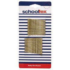Schooltex Bobby Pins Blonde 50 Pack