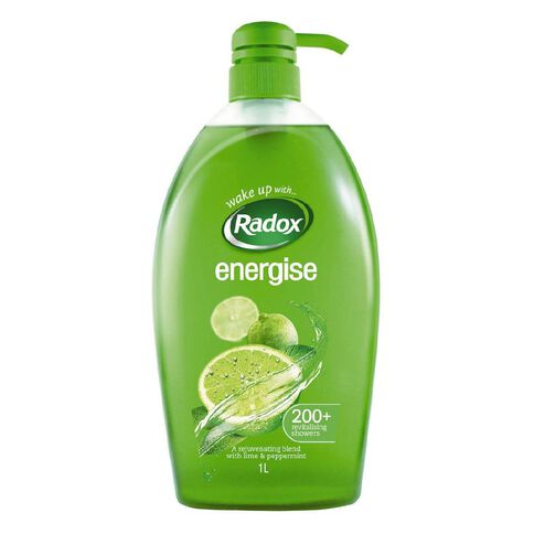 Radox Shower Gel Energise 1L