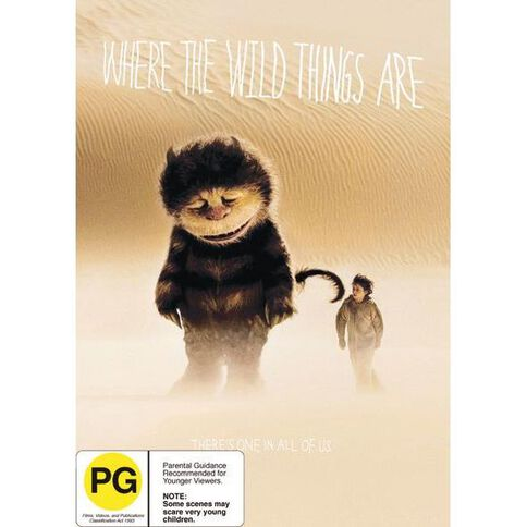 Where The Wild Things Are DVD 1Disc