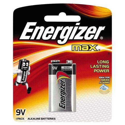 Energizer Max Batteries 9 Volt