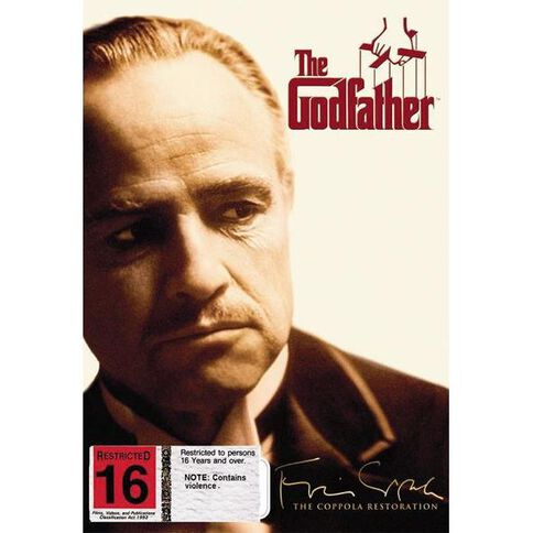 Godfather Part I Restored DVD 1Disc