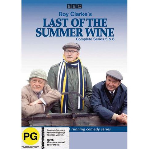 Last of the Summer Wine Season 5-6 DVD 3Disc
