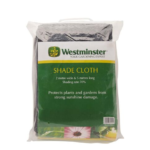 Westminster Shading Cloth  60gsm Black 2m x 5m