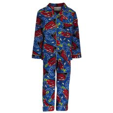 Cars Boys' Flannelette Pyjama