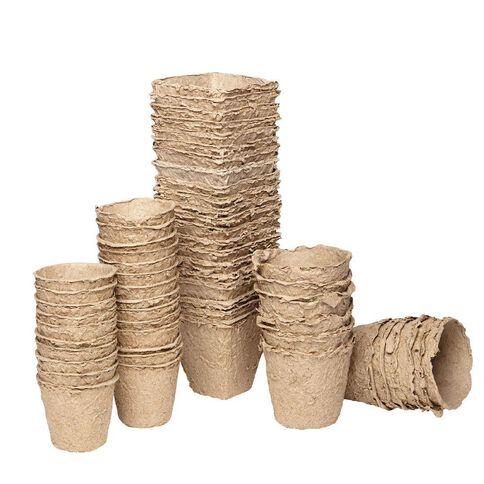 Paper Pot Round 6cm 24 Piece