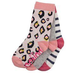 Bonds Girls' Crew Socks 3 Pack