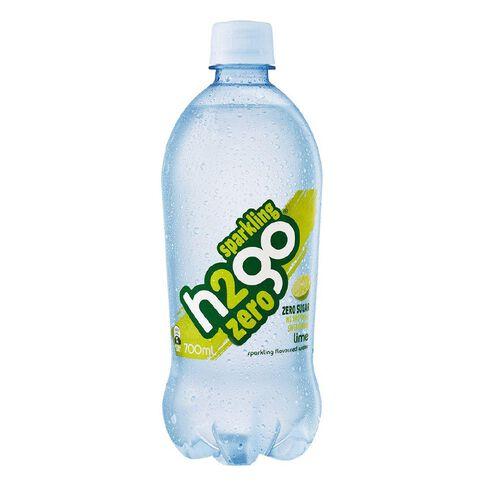 H2go Zero Sparkling Lime 700ml