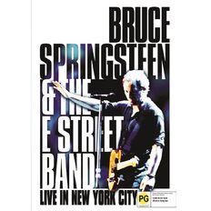 Bruce Springsteen Live In New York City DVD 1Disc