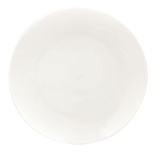 Harrison & Lane Coupe Side Plate White