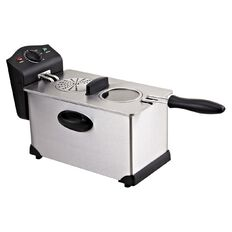 Living & Co Deep Fryer Stainless Steel 3L