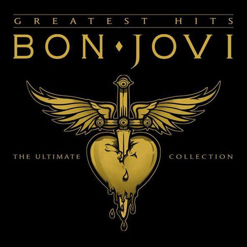 Greatest Hits CD by Bon Jovi 1Disc