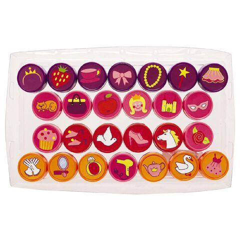 Kids' Art & Craft Alphabet Stamp Set 26 Pack
