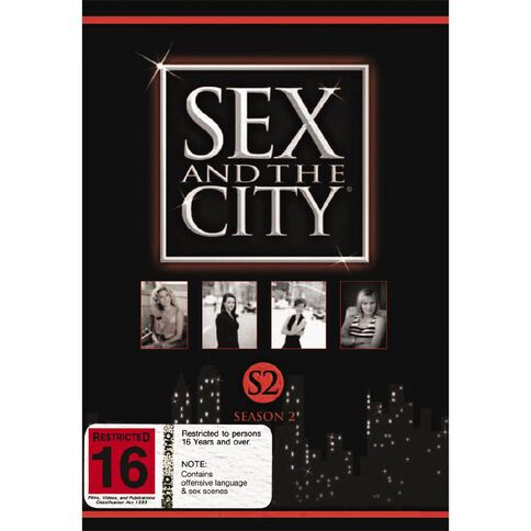Sex And The City Season 2 DVD 3Disc