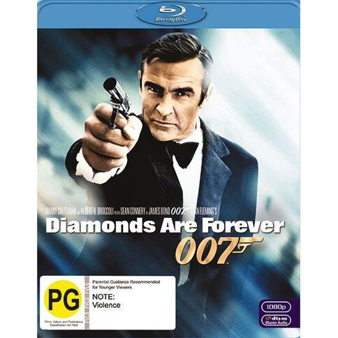 Diamonds Are Forever 2012 Version Blu-ray 1Disc