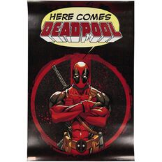 Poster Here Comes Deadpool