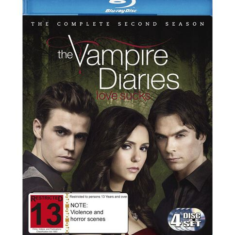 Vampire Diaries Season 2 Blu-ray 4Disc