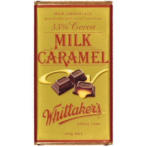 Whittaker's Creamy Milk Caramel Block 250g